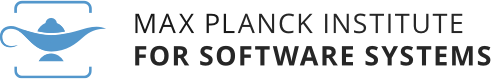 Logo of Moodle Max Planck Institute for Software Systems